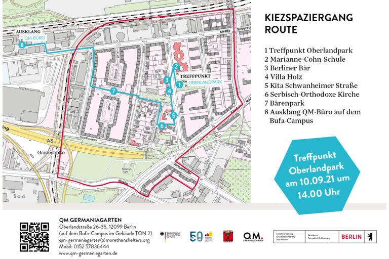 Auftaktveranstaltung des Quartiersmanagements Germaniagarten