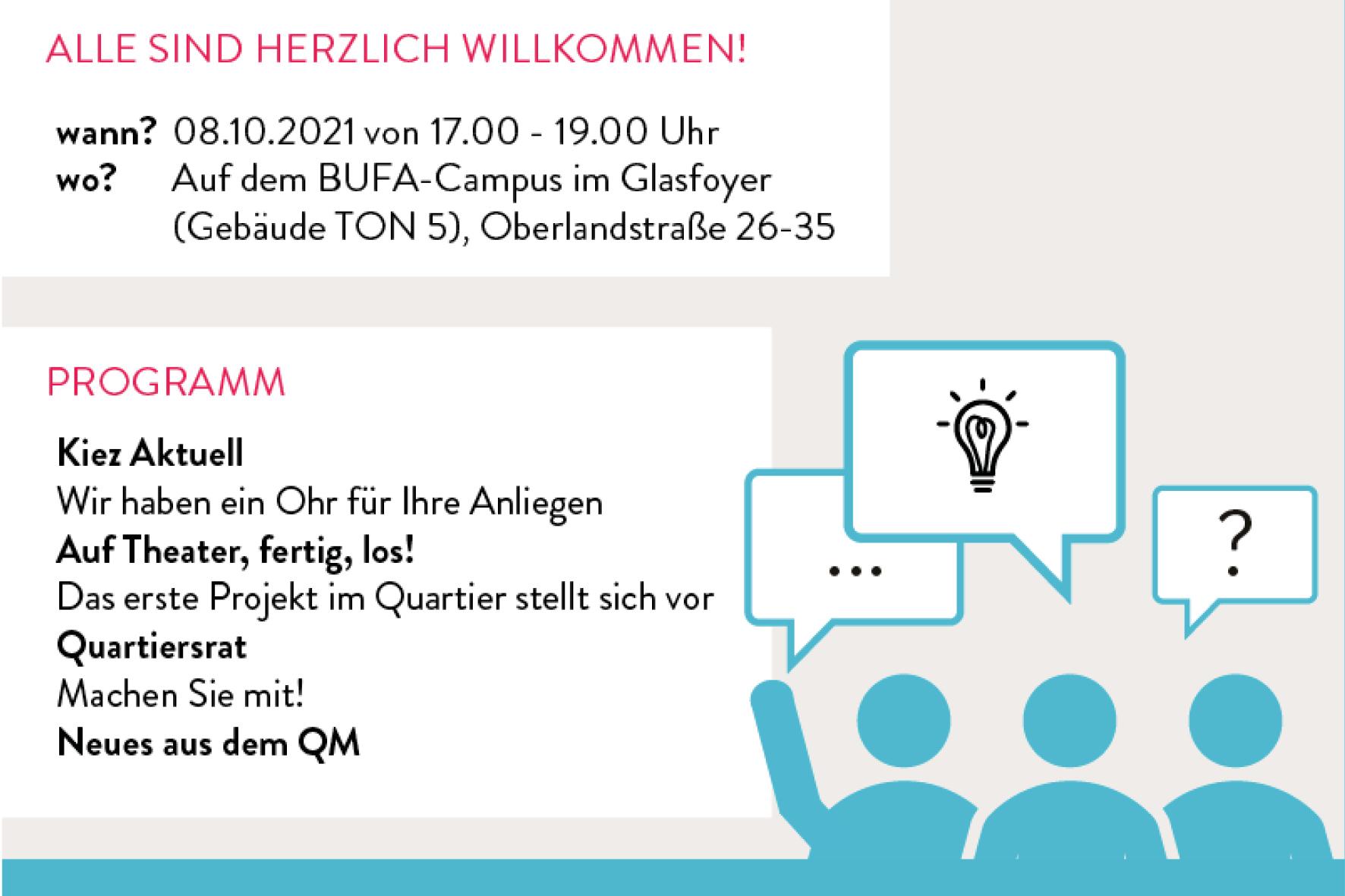 2. Forum Germaniagarten am 08.10.21